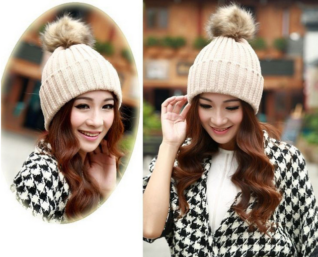 зимняя шапка для девочек