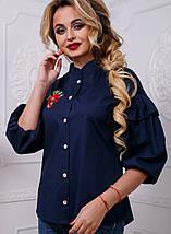 Женская блузка с широкими рукавами (2582-2580-2581-2584 svt), фото 2