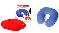 Массажная дорожная подушка Neck Massage Cushion, фото 1