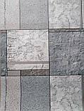 Обои бумажные влагостойкие Орион  серый 2168, фото 2
