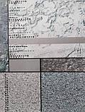 Обои бумажные влагостойкие Орион  серый 2168, фото 4