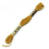 Мулине DMC (ДМС) арт.680,коричневый, нитки для вышивания 8м. Франция, Оригинал