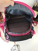 Стильный школьный рюкзак для девочек Migini принт Бабочки 39*29*16 см, фото 3
