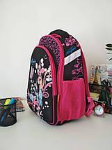 Стильний шкільний рюкзак для дівчаток Migini принт Метелики 39*29*16 см, фото 3