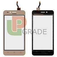 Тачскрин для Huawei Y3 II 2016/LUA-U03/U22/U23/L03/L13/L23, версия 3G, золотистый
