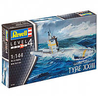 Revell —Сборная модель Подводная лодка German Submarine Type XXIII 1:144, Revell, 05140