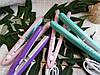 Мини Гофре утюжок для волос дорожный, для прикорневого объема ProGemei GM2986, фото 5