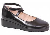Туфли школьные для девочки кожаные ТМ Каприз 34 раз.
