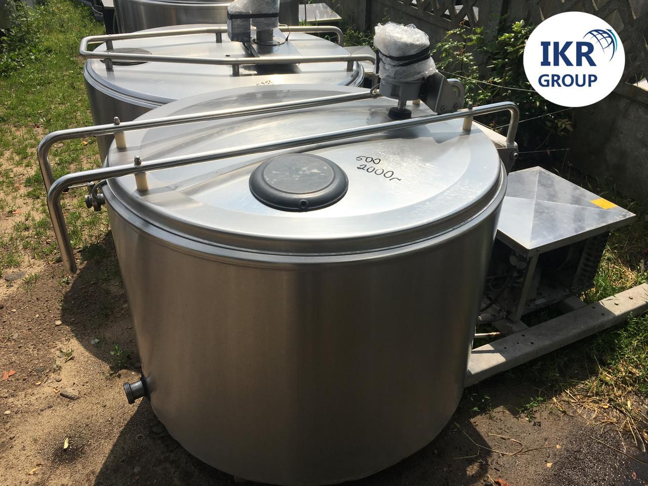 Охладитель молока Б/У ALFA LAVAL 500 открытого типа объёмом 500 литров