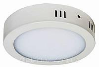 Накладная круглая LED панель 18W 1400LM 6400K / LM423