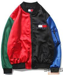 Куртка Tommy Jeans Black/Red/Blue/Green (ориг.бирка)