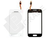 Тачскрин (сенсор)  Samsung G313H Galaxy Ace 4 Lite/G313HD, белый, Classic White, без фронтальной камеры, оригинал