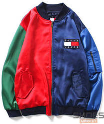 Куртка Tommy Jeans Blue/Red/Green (ориг.бирка)