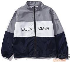 Куртка Balenciaga White/Grey/Blue (ориг.бирка)