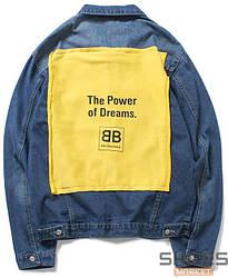 Куртка Balenciaga Blue (ориг.бирка)