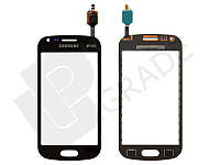 Тачскрин для Samsung S7582 Galaxy Trend Plus Duos, черный