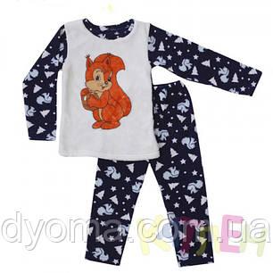 """Детская теплая пижама """"Норд 3"""" (флис + махра), фото 2"""
