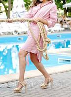 "Платье-рубашка ""Sea Pink"""