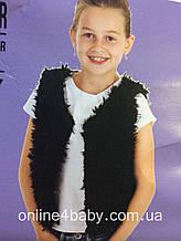 Дитяча жилетка Fashion favorit на дівчинку 2-4 роки, ріст 98-104