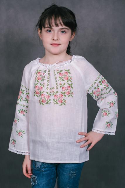 Пошиті заготовки для вишивки. Готові дитячі сорочки з нанесеним  малюнком-схемою для вишивки 287eb152e52de