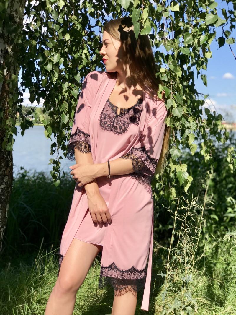 Женский шелковый комплект Код п104