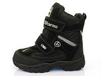 Детская зимняя обувь термо-ботинки B&G:ZTE17-017