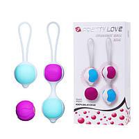 Набор вагинальных шариков Orgasmic balls silicone, фото 1
