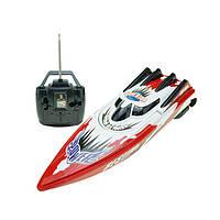 Гоночный катер на р/у Venis RC boat C202B Красный (hub_hJPj00013)