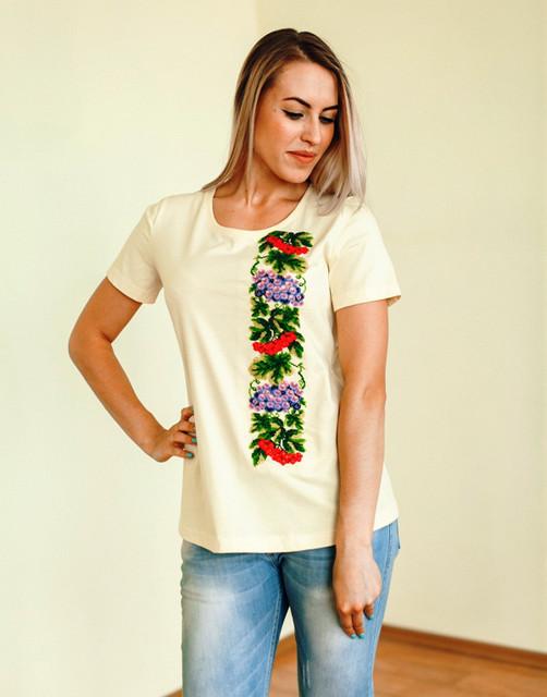 Схемы для вышивки бисером Княгиня Ольга - купить Футболки для вишивки  бісером і нитками b729986a228f1