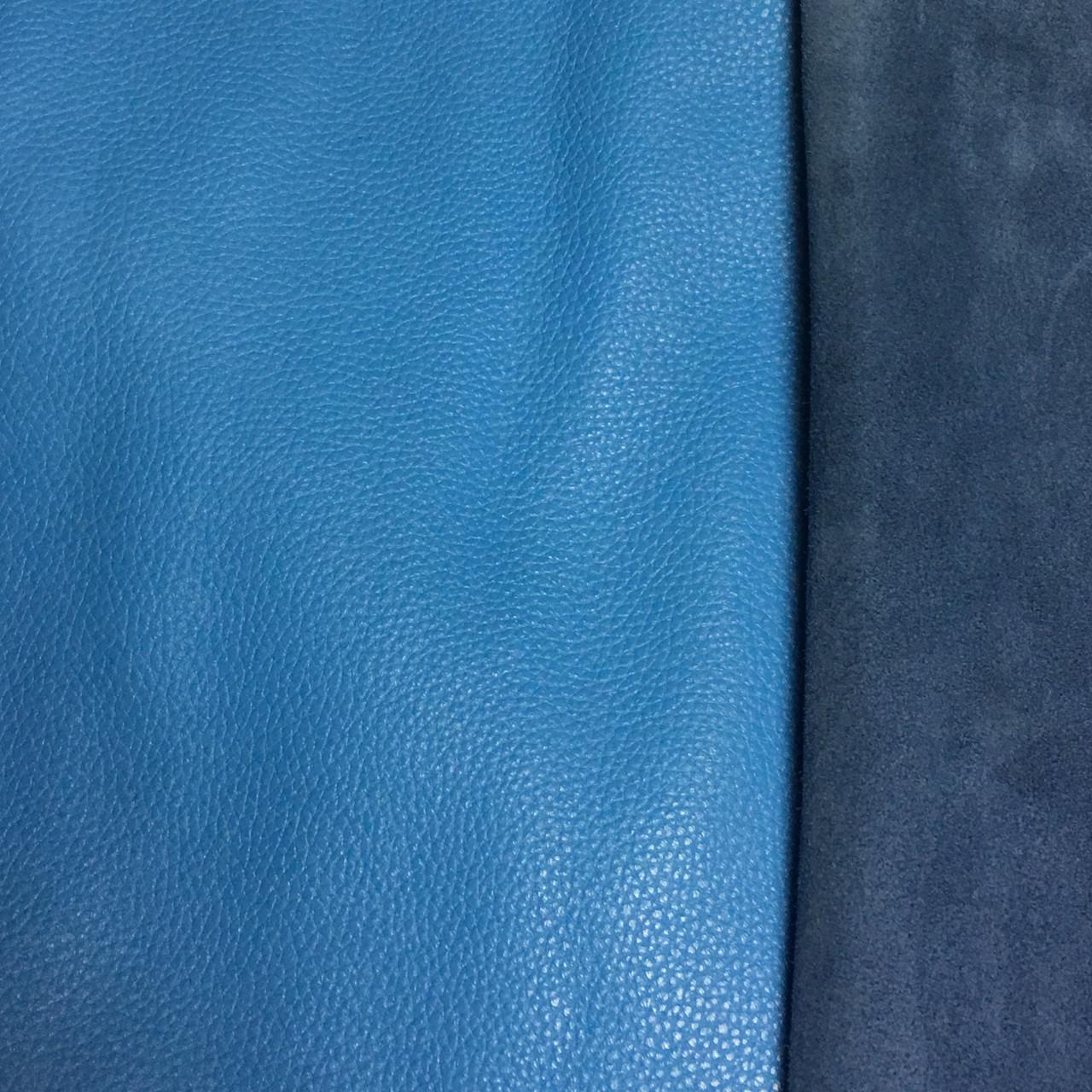 Кожа КРС FLOTAR 1,4-1,6мм blue 622 лицевая