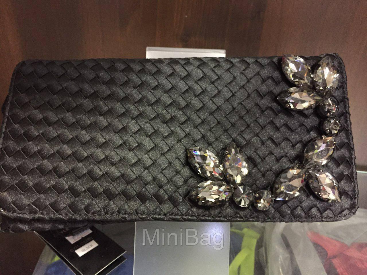 bf2b97c706f0 Клатч черный с камнями., цена 100 грн., купить в Одессе — Prom.ua ...