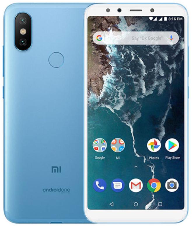 """Xiaomi Mi A2 Blue 4/32 Gb, 5.99"""", Snapdragon 660, 3G, 4G (Global)"""
