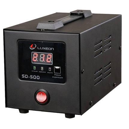 Стабілізатор напруги SD-500 Luxeon, фото 2