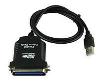 USB-LPT кабель для принтера сканера тип DB36