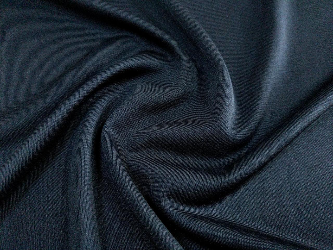Трикотажная подкладка, черный