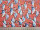 Ткань шифон креш фламинго, коралловый, фото 2