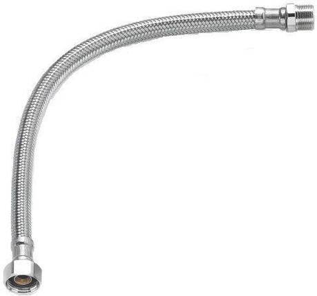 Шланг водяной TUCAI TAQ МG-1212-500 200180 1/2*1/2 НВ 0,5 м нержавейка, фото 2
