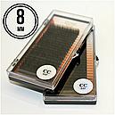 РЕСНИЦЫ I-BEAUTY PREMIUM, 20 ЛИНИЙ СС 0.07(8 мм), фото 2