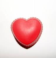Форма силиконовая порционная  Сердце