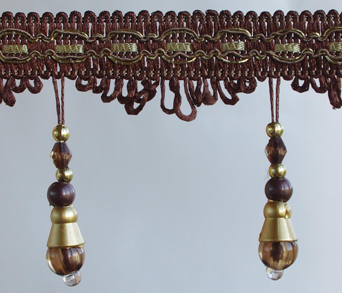Бахрома(стеклярус) для штор и тюлей