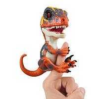 WowWee Fingerlings Интерактивный ручной динозавр Blaze Baby Dinosaur Untamed Raptor Interactive