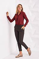 Женские укороченные брюки классика, фото 1