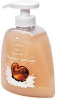 Жидкое натуральное мыло линии SPA, молочный шоколад Арго ( экстракты молоко, кофе, корица, мускатный орех)