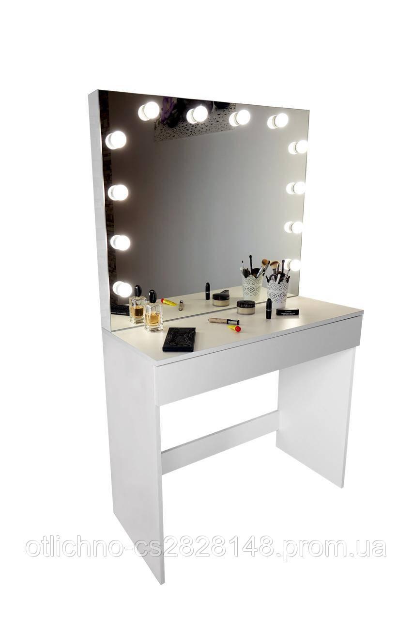 туалетный столик с зеркалом и подсветкой Glam продажа цена в