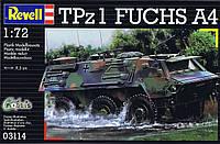 Revell —Сборная модель немецкого бронетранспортера TPz 1 Fuchs A4 (03114)