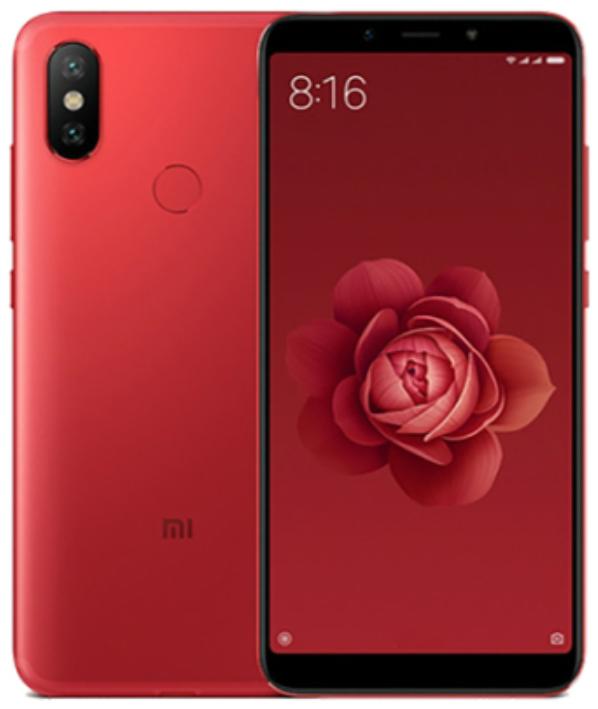 """Xiaomi Mi A2 Red 4/64 Gb, 5.99"""", Snapdragon 660, 3G, 4G (Global)"""