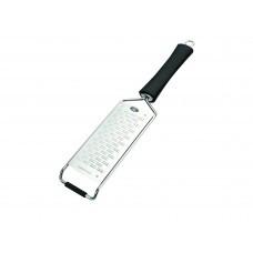 Плоская терка 33х6.5см из нержавеющей стали с ручкой Lacor