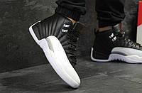 Кроссовки мужские  Nike Jordan Jumpman 23 черные с белым ( Реплика ААА+)