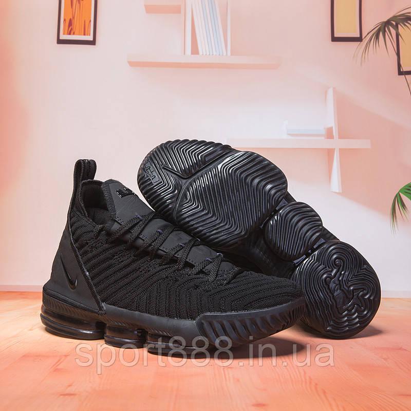 Nike LeBron XVI Triple Black Леброн 16