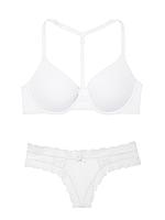 Комплект белья  Wear Everywhere + Lace-up Thong Panty Victoria's Secret